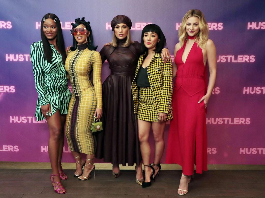 Keke Palmer, Cardi B, Jennifer Lopez, Constance Wu and Lili Reinhart Hustlers premiere Los Angeles