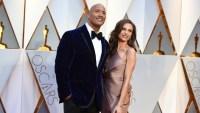 Dwayne 'The Rock' Johnson and Lauren Hashian Academy Awards