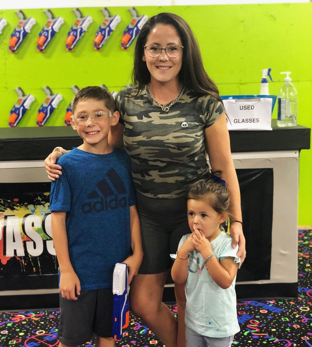 Teen Mom 2': Jenelle Evans Celebrates Jace's 10th Birthday Party