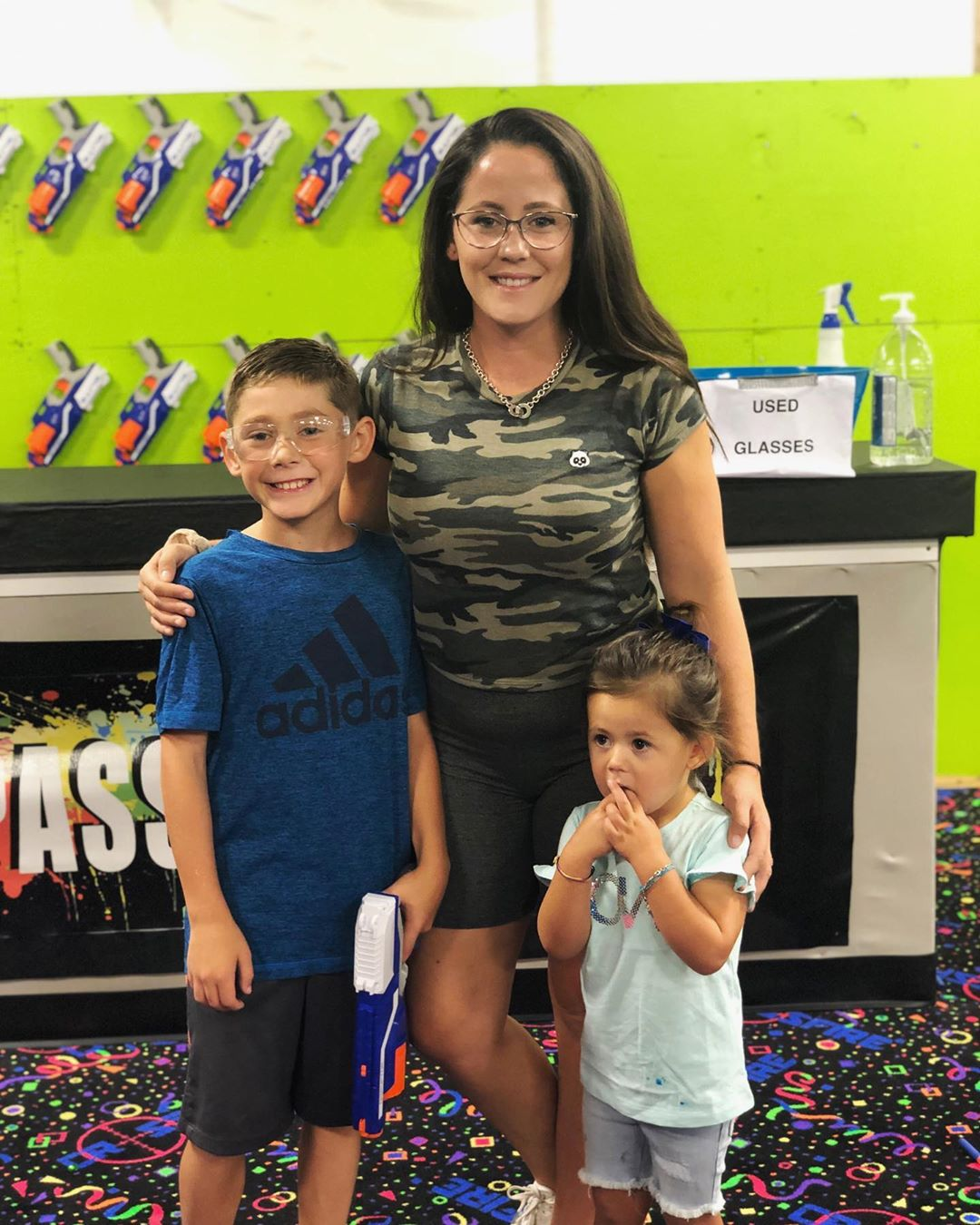 teen mom 2 jenelle evans son jace 10th birthday party