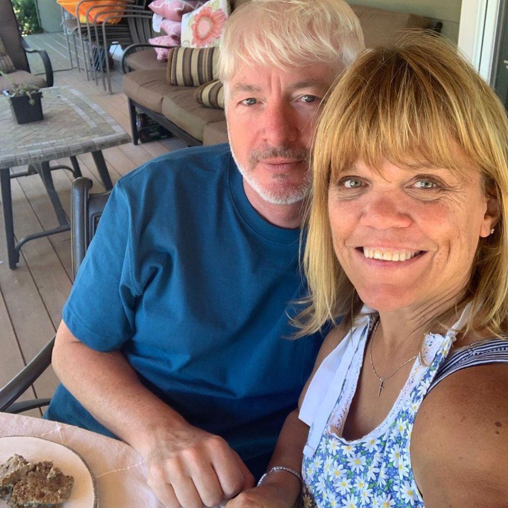 Amy Roloff and Chris Marek Take Selfie