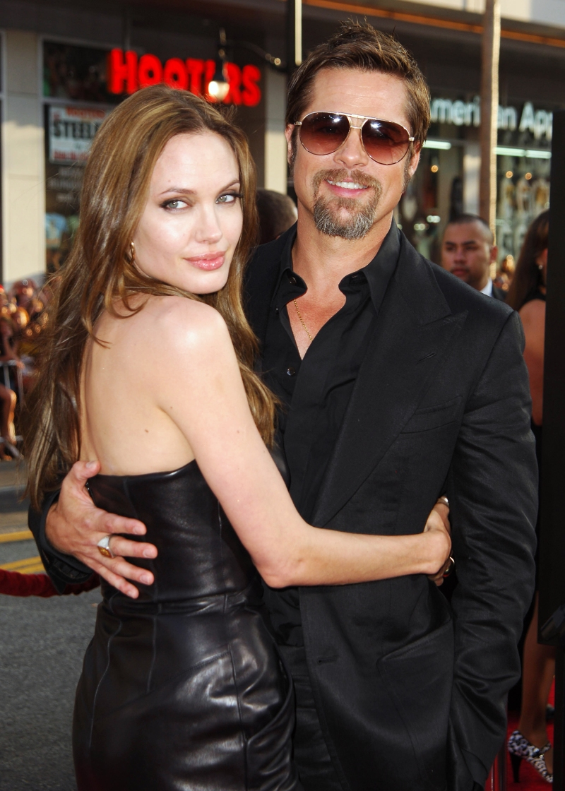 And rob blind date angelina THE COLD