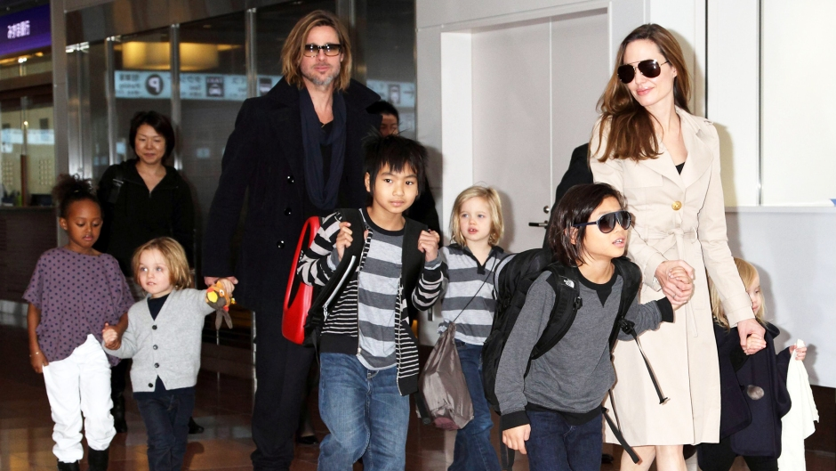 Angelina Jolie Kids Today 6 Children Brad Pitt