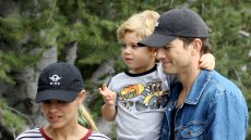 Ashton Kutcher and Mila Kunis Celebrate Daughter Wyatt's Birthday at Disney