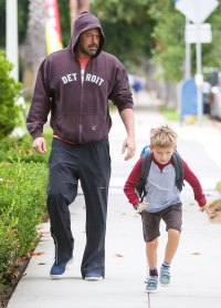 Ben Affleck Out on Daddy Duty With Two Kids