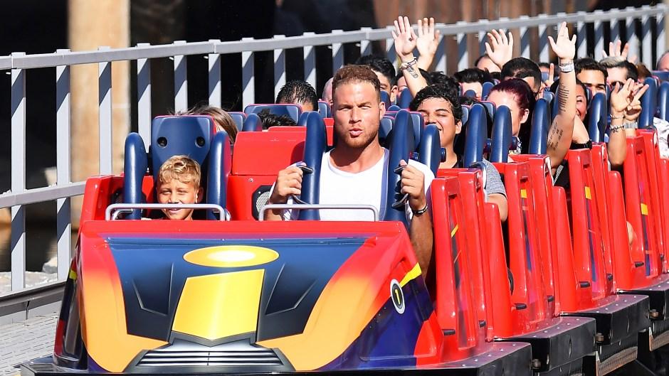 Blake Griffin Daughter Finley Disneyland Trip Birthday