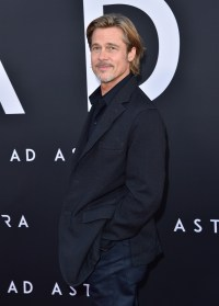 Brad Pitt Wearing a Suit at the Ad Astra Premiere