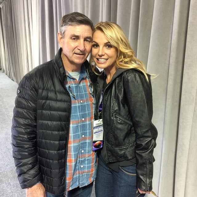 Britney Spears' Dad Jamie Spears Will Still Be Her Conservator After Court Hearing in L.A.