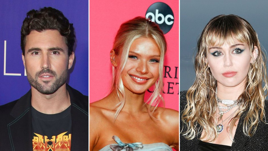 Brody Jenner and His GF Josie Canseco Have Awkward Run-In With Miley Cyrus