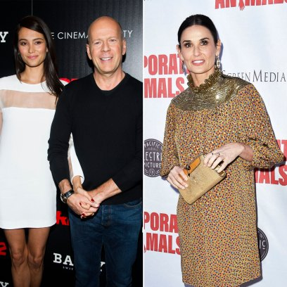 Bruce Willis Brings New Wife Emma Hemming to Ex Demi Moore's Book Launch