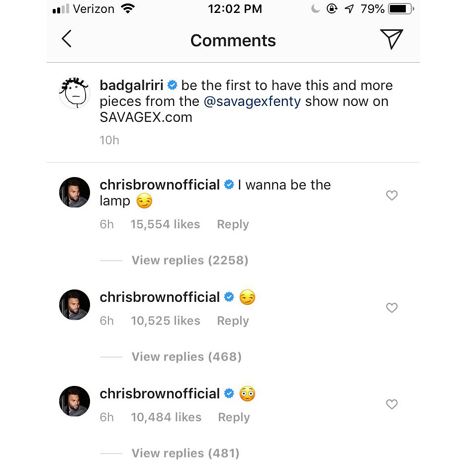 Rihanna Disses Chris Brown — Calls Him A 'Bitch' On ...