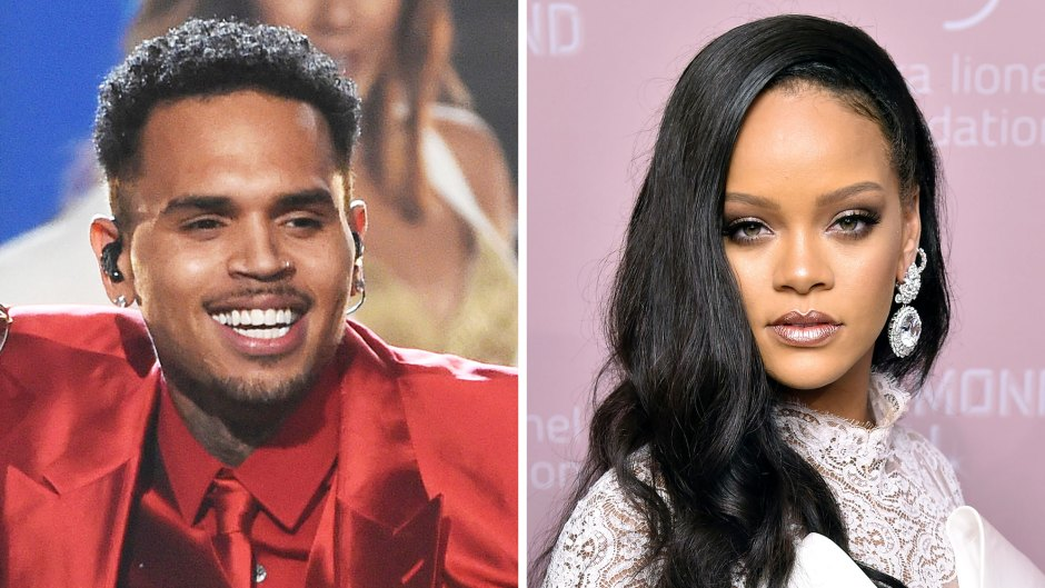 Chris Brown Leaves Thirsty Comments on Ex Rihanna Sexy Instagram Pic