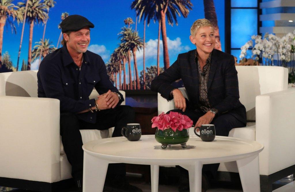 """Brad Pitt on """"The Ellen DeGeneres Show"""""""