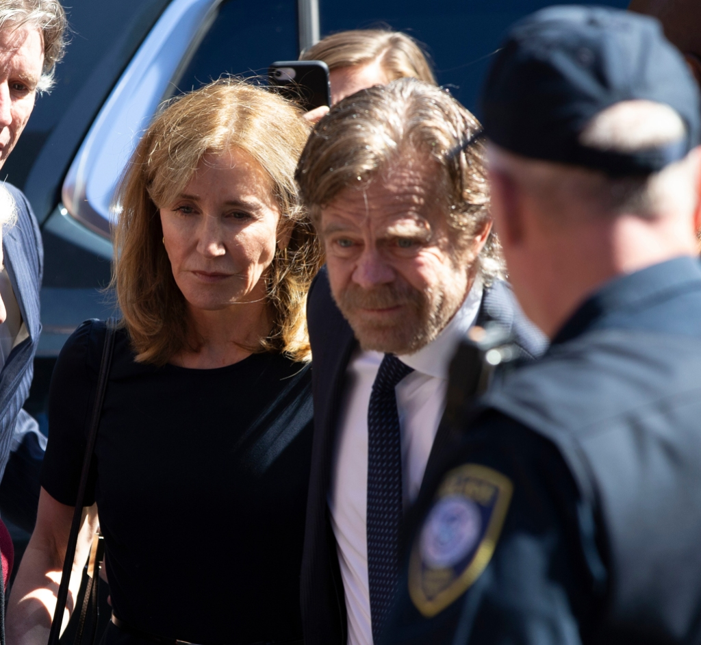 Felicity Leaves Courthouse Looking Distraught After Being Sentenced to 2 Weeks in Prison