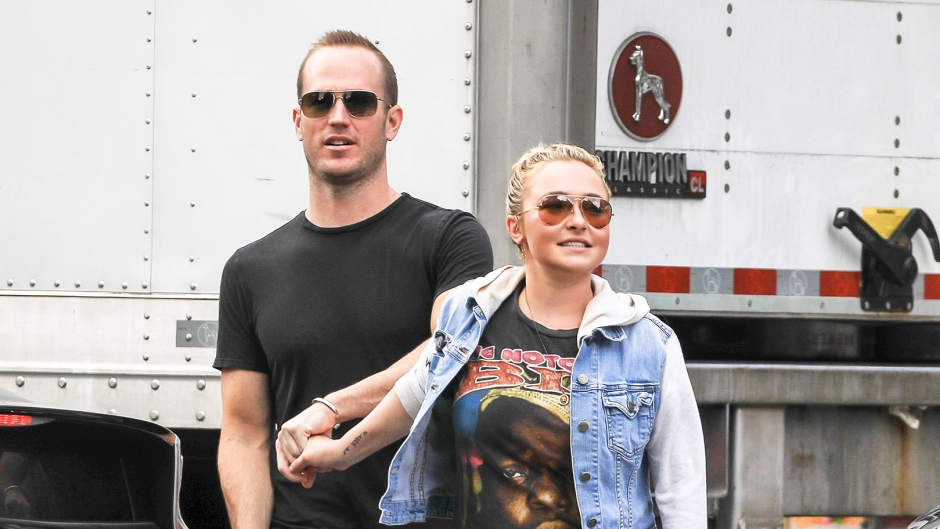 Hayden Panettiere Holding Hands Brian Hickerson Brother New York City