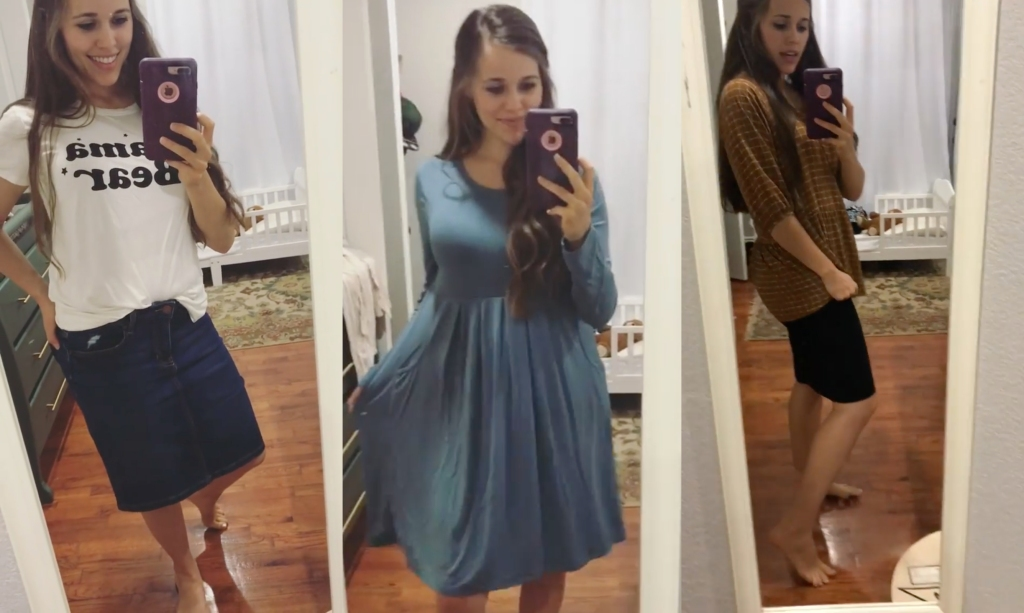 Jessa Duggar Shows Off Post Baby Body During Impromptu Fashion Show