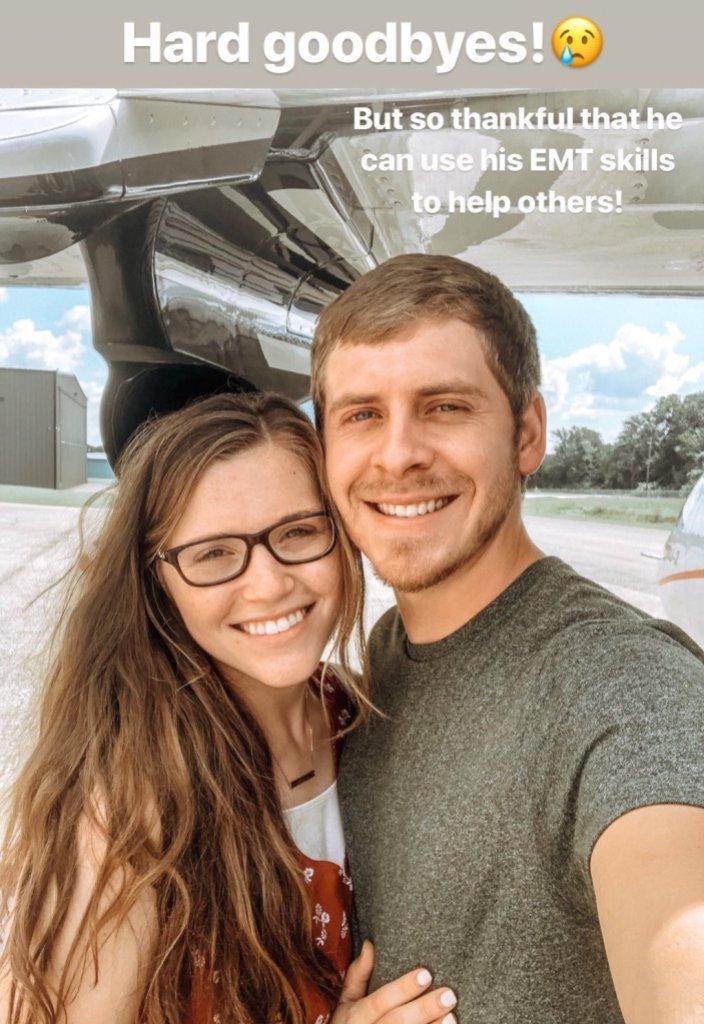Joy-Anna Duggar Shares Selfie Before Austin Forsyth Flies to the Bahamas