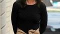 Katie Holmes Fall Chic NYC Jamie Foxx Split