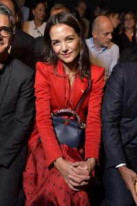 Post-Breakup Glow! Katie Holmes Looks Red Hot in the Front Row at Fendi During Milan Fashion Week