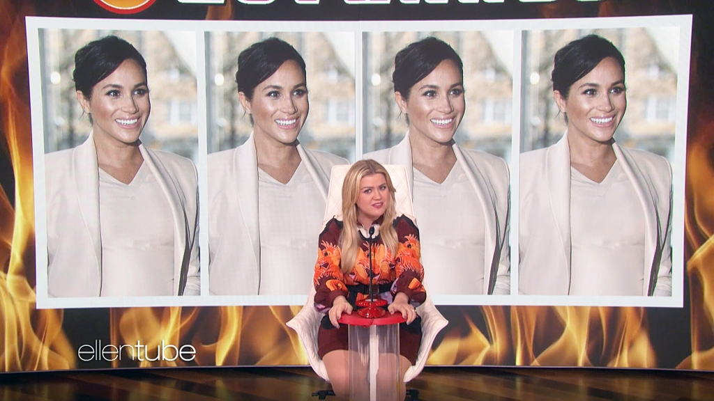 Uh, Kelly Clarkson Has No Idea Who Duchess Meghan Is in This Hilarious Clip From 'The Ellen Show'