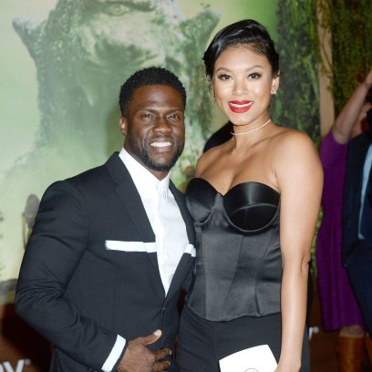 Kevin Hart's Wife Eniko at the 'Jumanji: Welcome to the Jungle' film premiere,