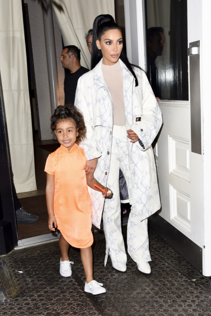 Kim Kardashian Reveals She Delayed North's Birth By '2 Hours' to Get Her Nails Done