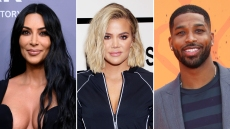 Kim Kardashian Khloe Kardashian Ex Tristan Thompson Great Dad