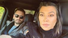 Kourtney Kardashian Takes Care Selfie with Scott Disick