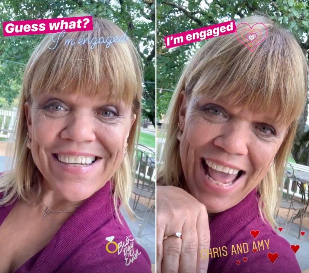 LPBW Amy Roloff Shows Off Engagement Ring Chris Marek