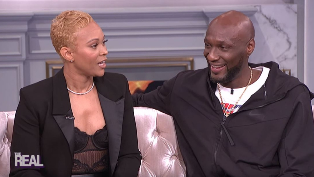 Lamar Odom and Sabrina Parr on The Real