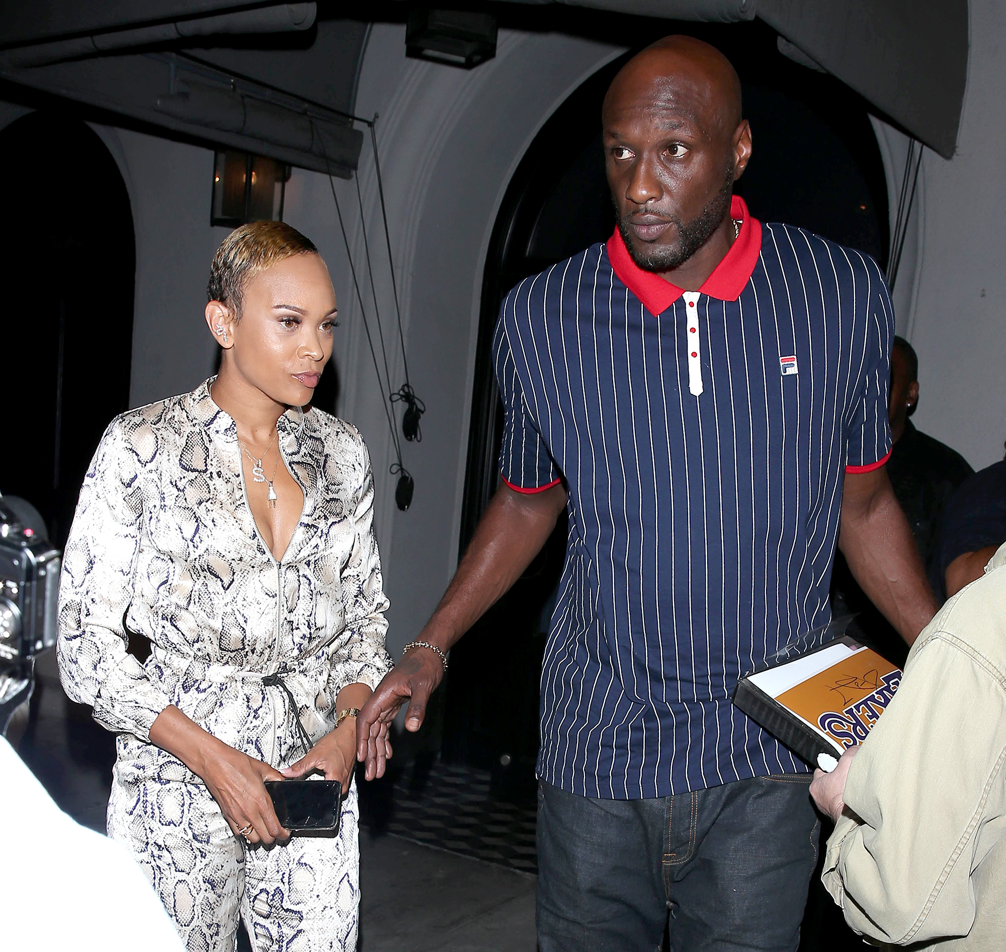 Lamar Odom Filming a Reality Show With New Girlfriend