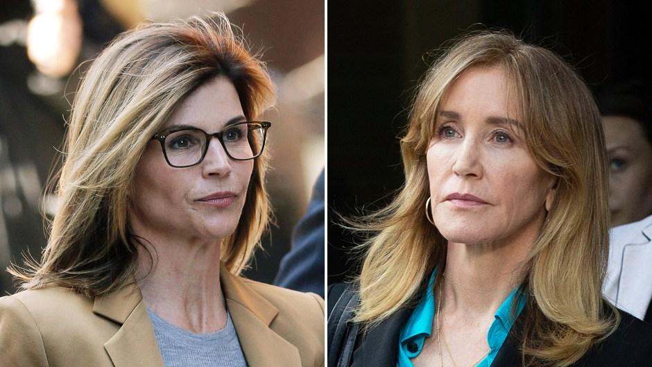 Lori Loughlin Friends Felicity Huffman Plea Deal