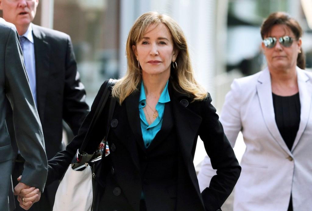 Meghan McCain Felicity Huffman Jail College Scandal