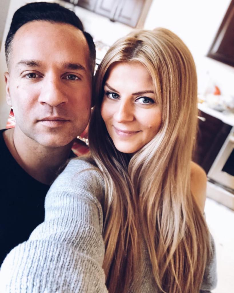Mike Sorrentino With Wife Lauren Sorrentino