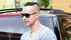 Mike The Situation Sorrentino Spotted Leaving Jail