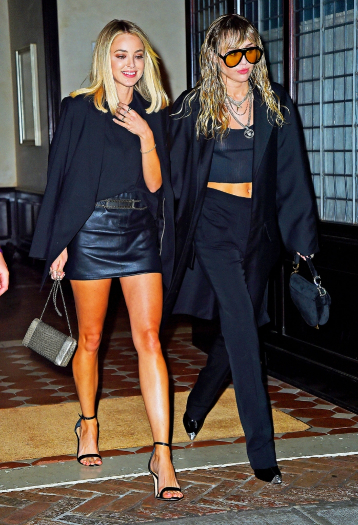 Miley Cyrus' GF Kaitlynn Carter Wears a Ring With the ...