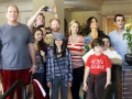 Modern Family Then and now
