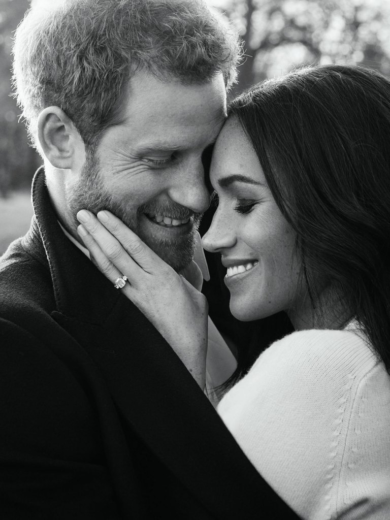 Official engagement pictures of Prince Harry and Meghan Markle taken at Frogmore House in Windsor