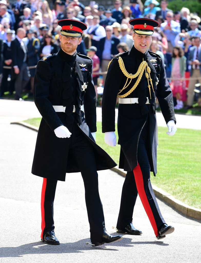 Prince William at Prince Harry's Wedding to Meghan Markle