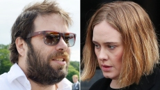 ADELE and Simon Konecki Split Looking Serious