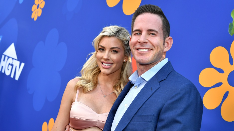 Tarek El Moussa and Heather Rae Young Take Shots to Celebrate Her B-day