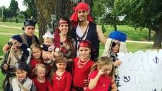The Duggars Dress Up as Pirates