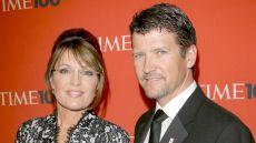 Sarah Palin and Husband Todd Pose on Time 100 Red Carpet