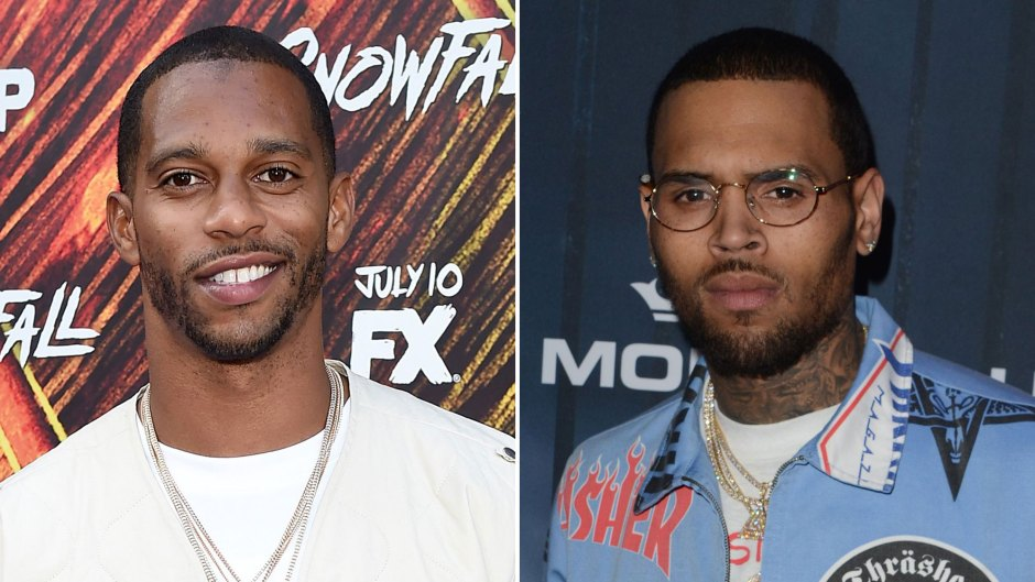 Victor Cruz DGAF About Chris Brown Commenting on His Instagram