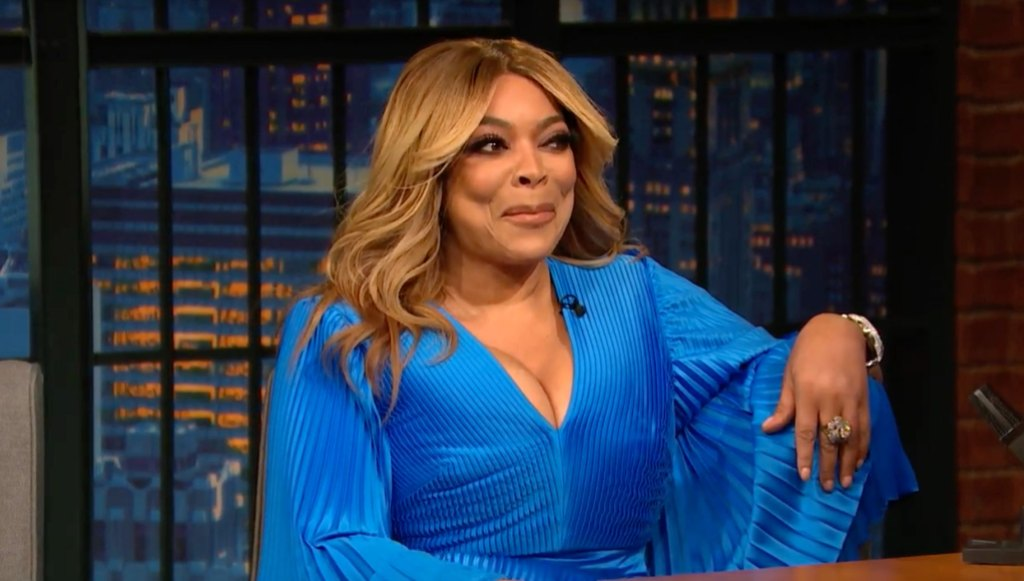 Wendy Williams on Late Night with Seth Meyers