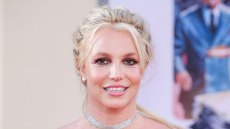 britney spears wears a red dress at a red carpet event celebrates her sons birthday on instagram