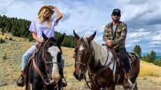 brody jenner and girlfriend josie canseco ride horses in the mountains brody jenner josie canseco instagram official