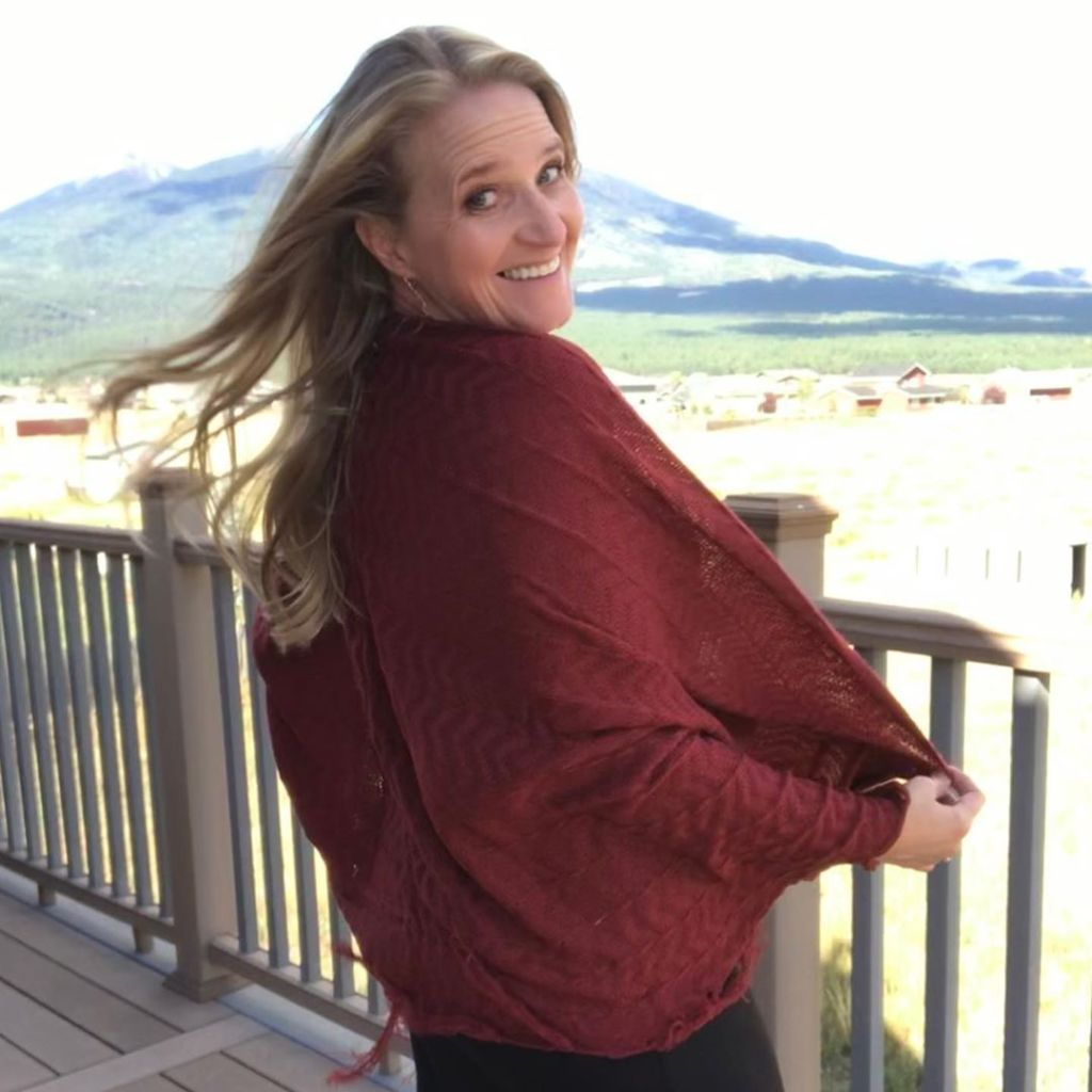 christine brown new photo on flagstaff deck modeling clothes