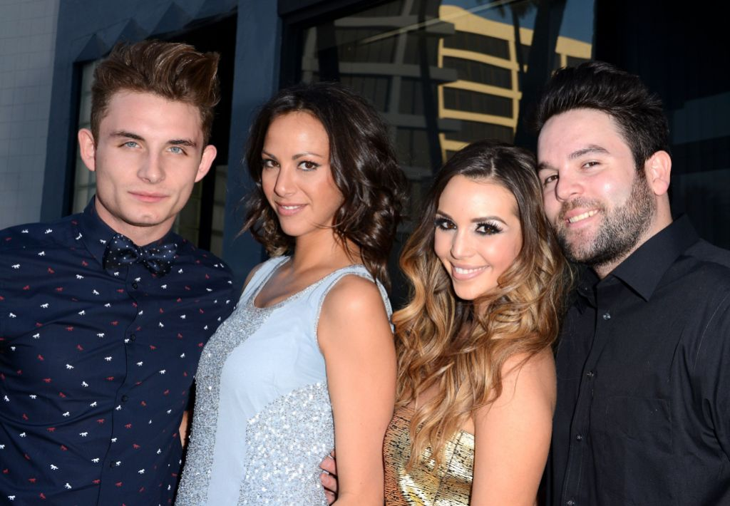 James Kennedy, Kristen Doute, Scheana Marie and Michael Shay