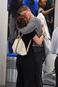 'The Act' Starlet Joey King and Her New BF Steven Piet Pack on the PDA at LAX and Yeah, They're Pretty Dang Cute